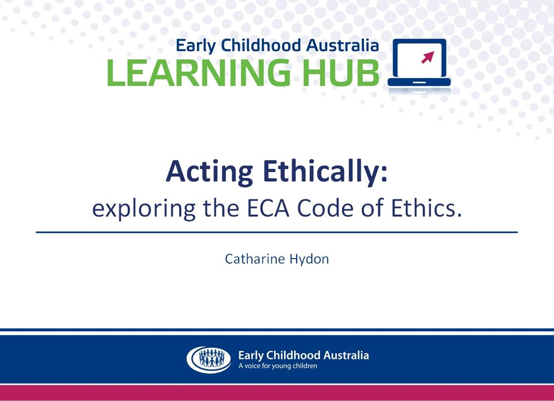 Ethics webinar image 1